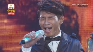 The Voice Cambodia -  សោម សៅសុវណ្ណា -  When A Man Loves A Woman - Live Show 29 May 2016