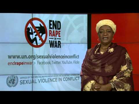 Launch of UN Report on Sexual Violence in Conflict 2014. Video Message by UN Special Representative