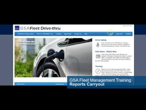 GSA Fleet Drive-thru Training: Reports Carryout