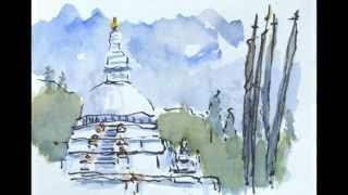 2013 Ne?pal Bhoutan Croquis de voyages