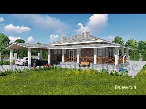 Проект дома 8 на 8 из кирпича T 096 1K 33 09, W 122, G