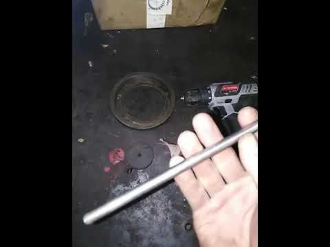Как очистить трубу от ржавчины изнутри