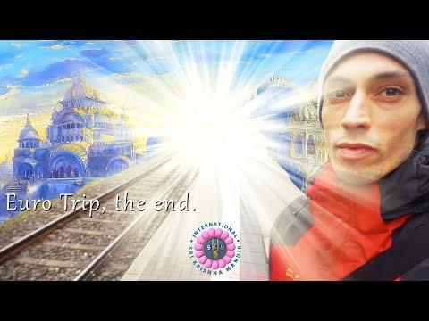 Krsna Vlog | The End Of Our Euro Preaching Trip | Vlog #39