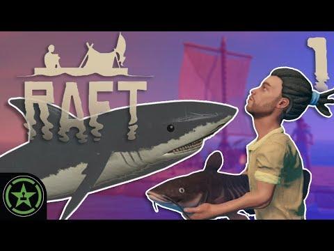 No Bite, No Shark Plz - Raft | Lets Play