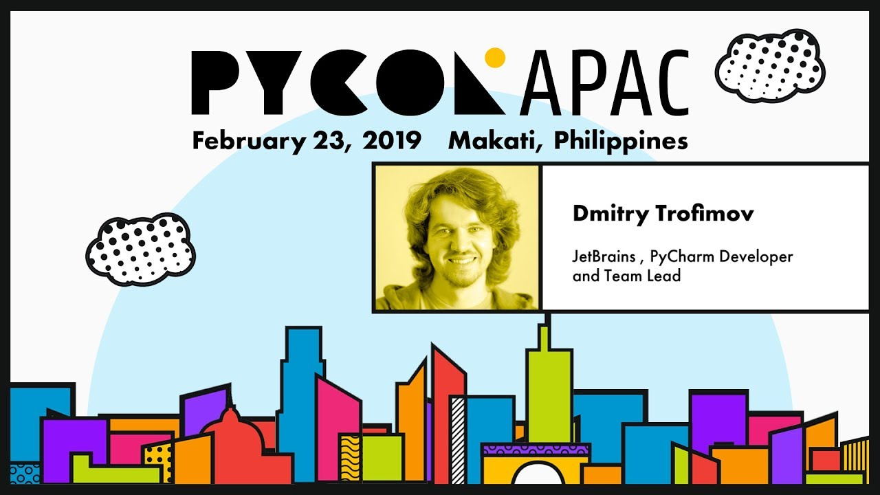 Image from Pycon APAC 2019 - Dmitry Trofimov - Best tools for Jupyter notebooks