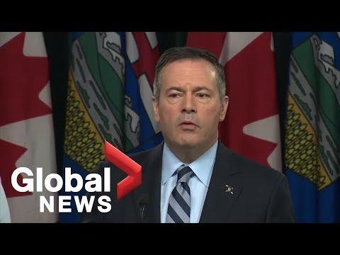 "Alberta Premier Jason Kenney threatens to ""turn off the taps"" on BC"