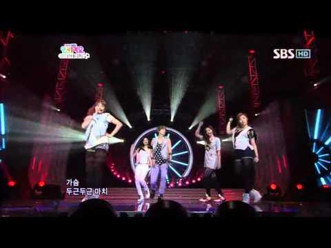Fx  Nu ABO 에프엑스  Nu 예삐오 @ SBS Inkigayo 인기가요 100523