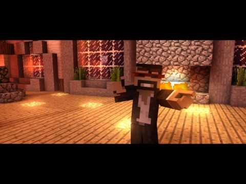 Minecraft Usher feat pitbull dj got us falling in love again Parody