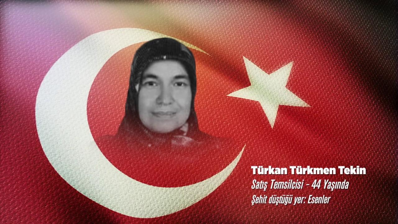 15 Temmuz Şehidi Türkan Türkmen Tekin