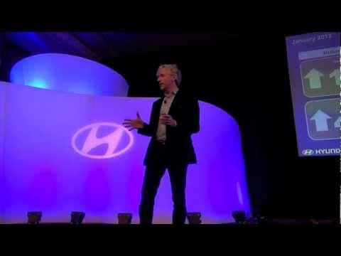 Hyundai CEO John Krafcik about January 2012 sales and Hyundai's market share.