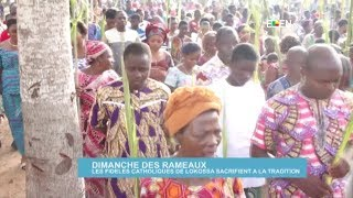 Dimanche des Rameaux : les fidèles catholiques de Lokossa sacrifient à la tradition