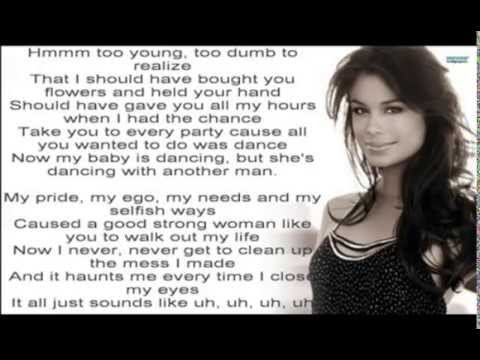 WHEN I WAS YOUR MAN: BRUNO MARS WITH LYRIC & CHORDS - YouTube