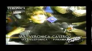 Verónica Castro: Llamada en el Noticiero 24 Horas