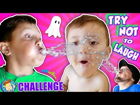 TRY NOT TO LAUGH CHALLENGE! FUNnel Family does HAHA