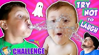 TRY NOT TO LAUGH CHALLENGE! FV does HAHA