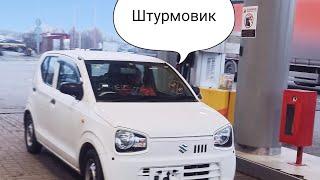 Suzuki alto Обзор.  Тест драйв.