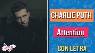 Charlie Puth - Attention (Karaoke)   CantoYo