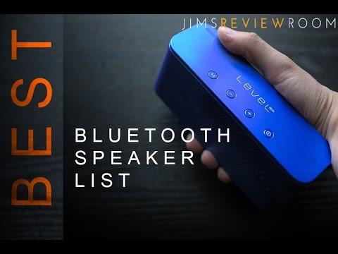 Best Bluetooth Speakers 2016 Small - Medium - Large
