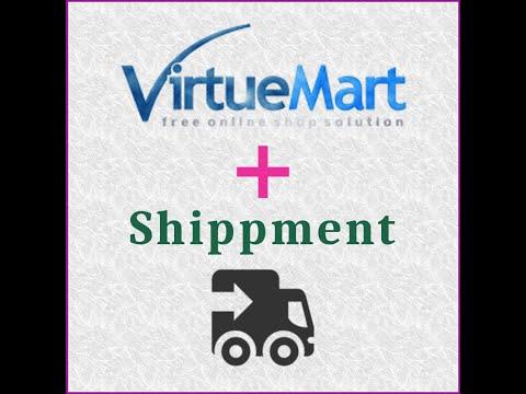 VirtueMart (Joomla 3) - Shipment method (by weight)