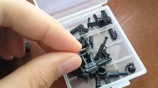 Моя Лего кейс для хранения оружия (обзор)