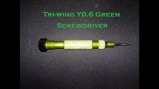 Tri-wing Y0.6 Green Screwdriver