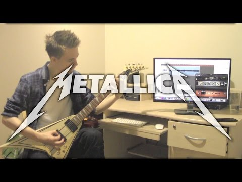 Metallica - Clean Riffs and Solos Medley