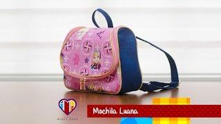 Bolsa mochila de tecido Luana – Maria Adna Ateliê