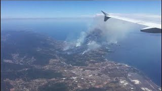 Les incendies dans le sud de la France en voie de stabilisation