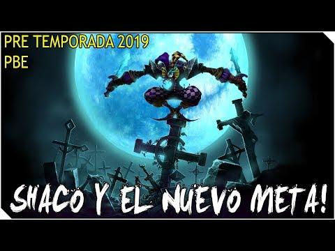 Pre Temporada 2019 | SHACO | La nueva Runa y el Nuevo META... ESTO ES UNA LOCURA!!!