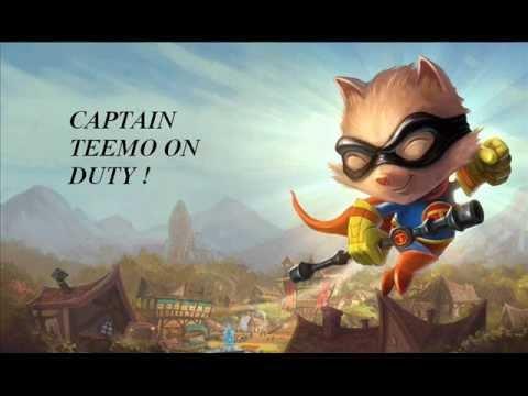 League of Legends Captain Teemo On Duty REMIX