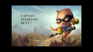 Repeat youtube video League of Legends Captain Teemo On Duty REMIX