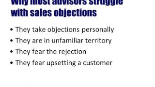 Service Advisor Training Webinar - Dealing with Sales Objections