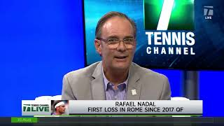 Tennis Channel Live: Nadal Post-Loss Interview