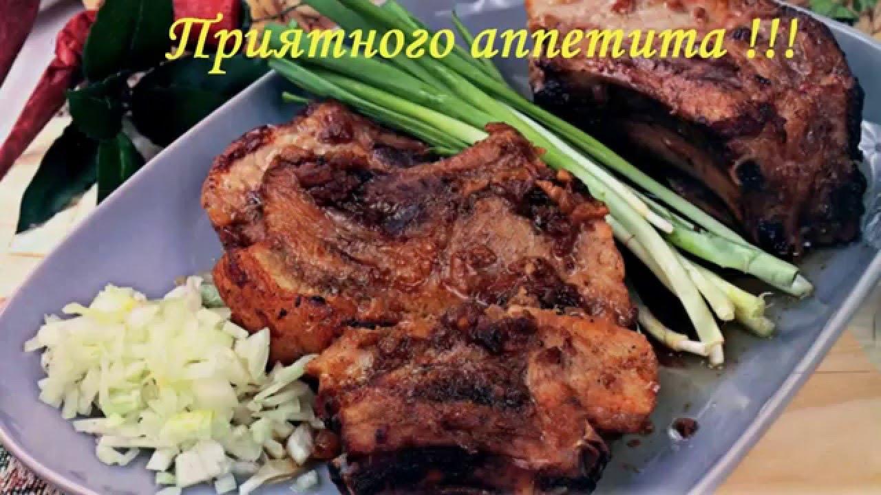Горячие вторые блюда на НОВЫЙ ГОД 2017 новогоднее меню Вкусные свиные ребрышки в духовке рецепт New!