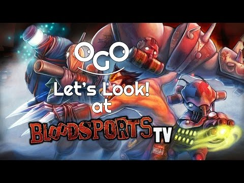 Let's Look!: Blood Sports TV |