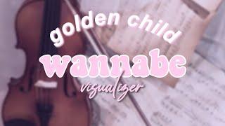 Cover images Golden Child ' WANNABE ' | audio visualizer [rtk edition]