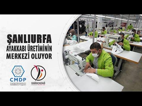 Şanlıurfa ayakkabı üretim merkezi oluyor !