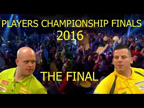 van Gerwen v Chisnall [HD] 2016 FINAL Players Championship