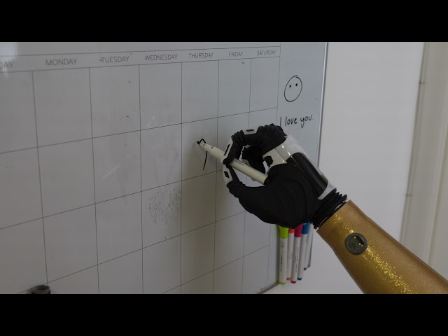 The Nexus Hand Demonstration - Writing On A Whiteboard | COVVI