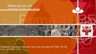 Himna SDM Rim 1985. Resta qui con noi ♫