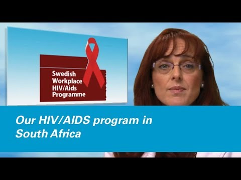 Our HIV/AIDS program in South Africa