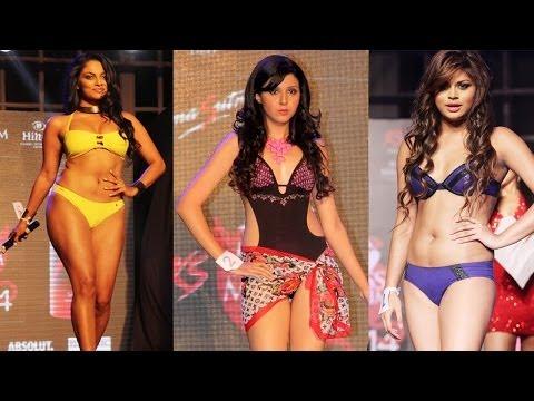 Wardrobe Malfunction at Grand finale of KamaSutra Miss Maxim 2014