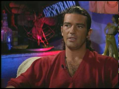 "Antonio Banderas talks with Joe Leydon about ""Desperdo"""