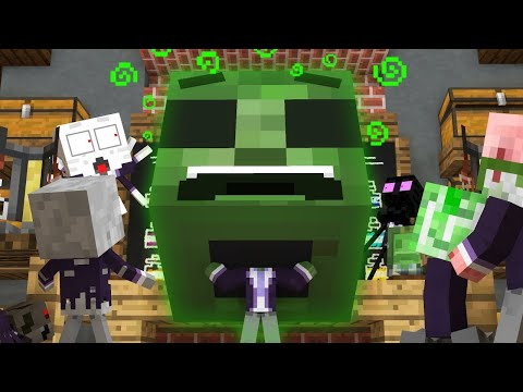 Monster School Life: Potions - Minecraft Animation
