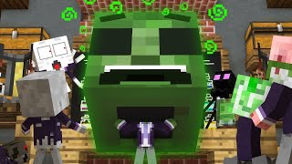 Monster School: Potions - Minecraft Animation