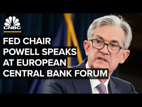 Fed Chairman Powell speaks at European Central Bank Forum on central banking — 11/12/20