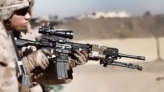 Marines Hone Marksmanship With M4 Carbine & M16A4