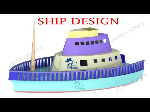 Ship design in solidworks | solidworks tutorial | solidworks loft guide curve | Anyone can design