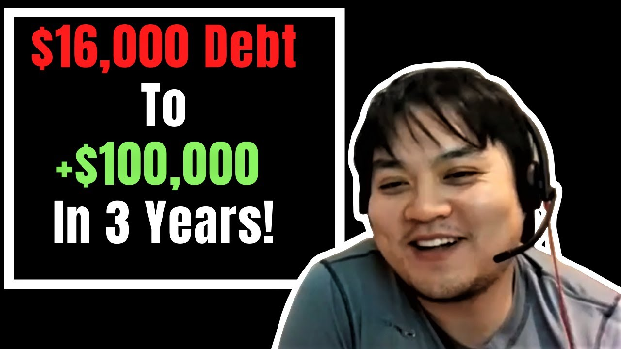 Vlog: From Student Debt To Having $100,000 In Investing Accounts.
