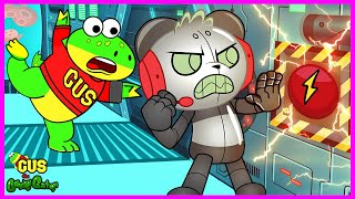 Gus the Gummy Gator Stops Robo Combo in a Secret Spy Mission!